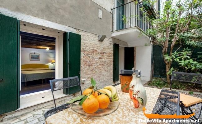 Appartement de luxe venise avec jardin louer for Appartement location jardin