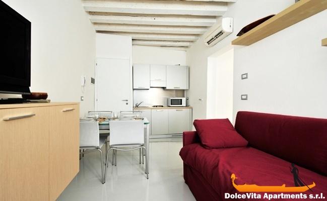 Appartement venise de luxe pour 8 personnes louer for Appartement design venise