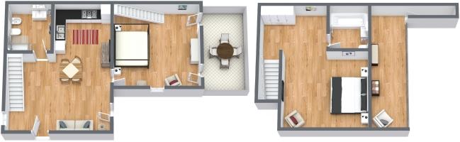 Planimétrie Appartement N.1