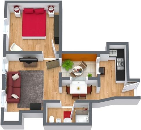 Planimétrie Appartement N.103