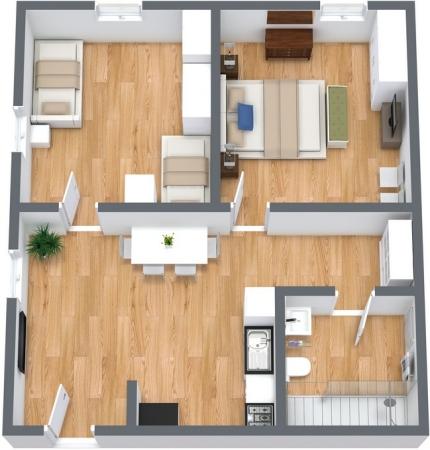 Planimétrie Appartement N.108