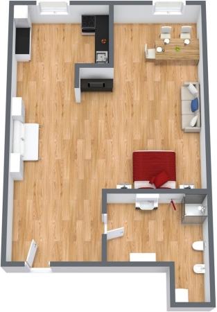 Planimétrie Appartement N.111