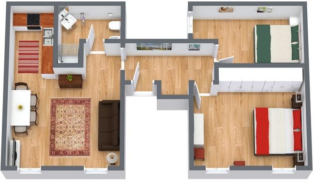 Planimétrie Appartement N.113