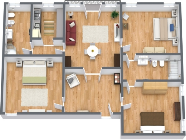 Planimétrie Appartement N.114