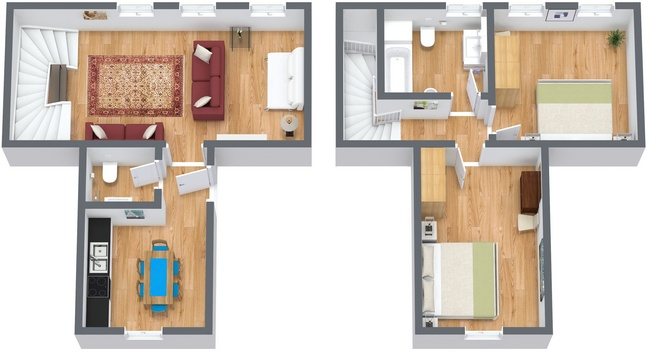 Planimétrie Appartement N.115