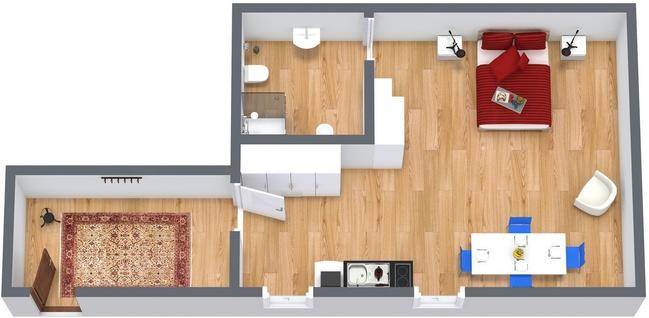 Planimétrie Appartement N.117