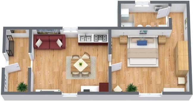 Planimétrie Appartement N.120