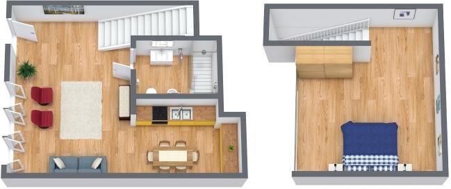 Planimétrie Appartement N.122