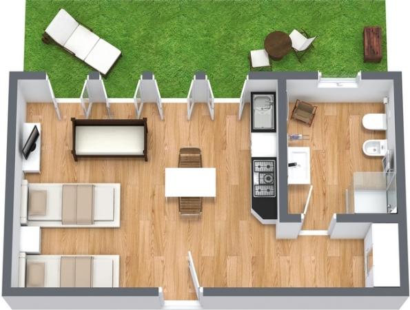 Planimétrie Appartement N.13