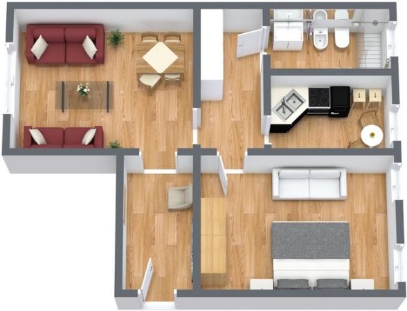 Planimétrie Appartement N.131