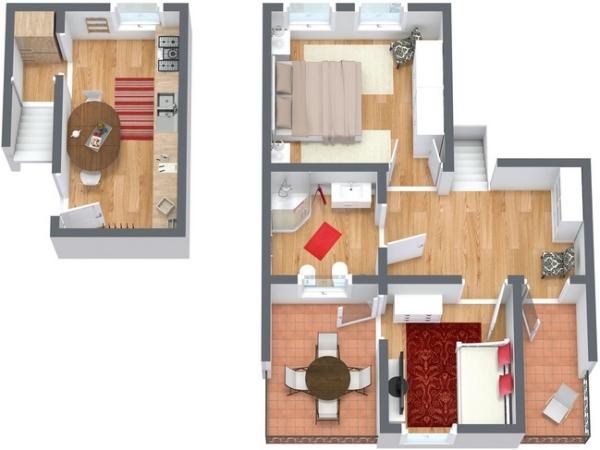 Planimétrie Appartement N.138