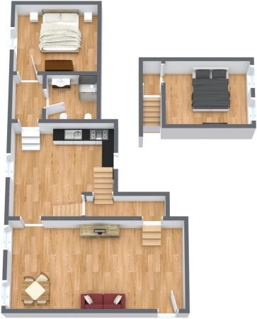 Planimétrie Appartement N.139