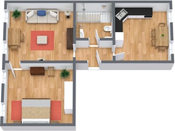 Planimétrie Appartement N.140