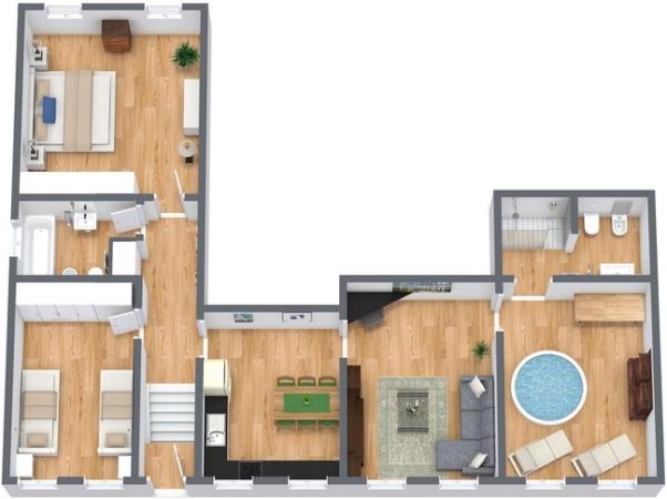 Planimétrie Appartement N.141
