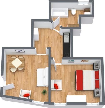 Planimétrie Appartement N.142