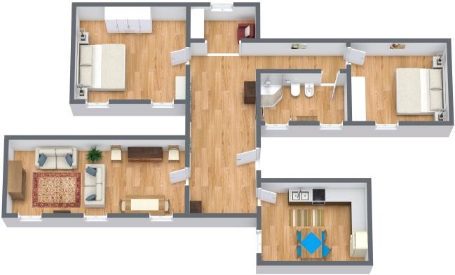 Planimétrie Appartement N.143