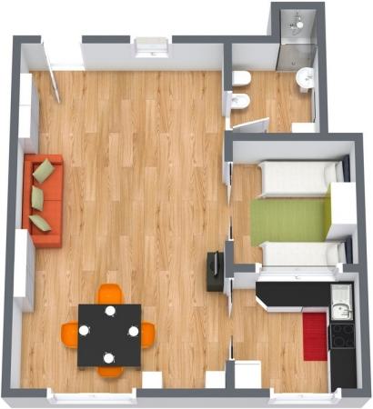 Planimétrie Appartement N.146