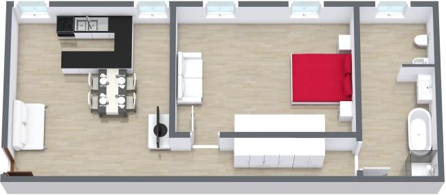 Planimétrie Appartement N.164