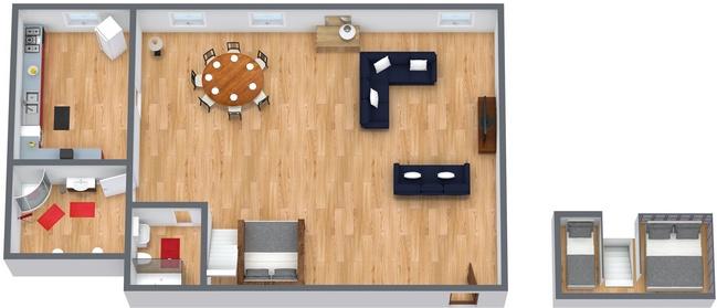 Planimétrie Appartement N.168