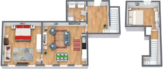 Planimétrie Appartement N.170