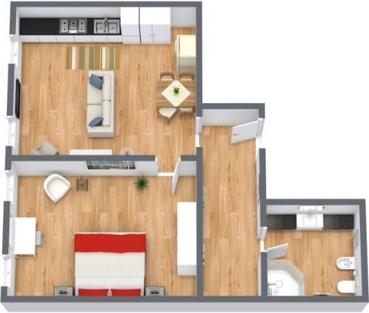 Planimétrie Appartement N.171