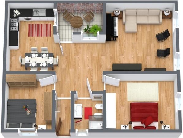 Planimétrie Appartement N.181