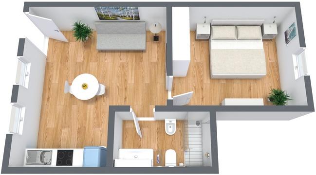 Planimétrie Appartement N.182