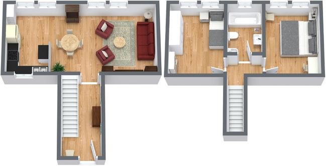 Planimétrie Appartement N.186