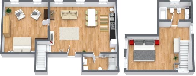 Planimétrie Appartement N.191