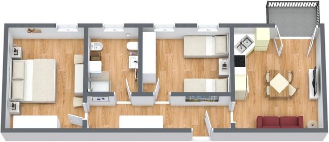 Planimétrie Appartement N.194