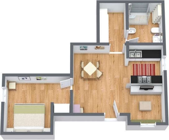 Planimétrie Appartement N.195