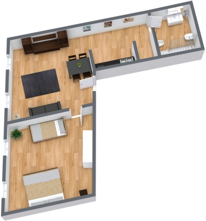 Planimétrie Appartement N.79