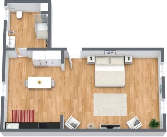 Planimétrie Appartement N.217
