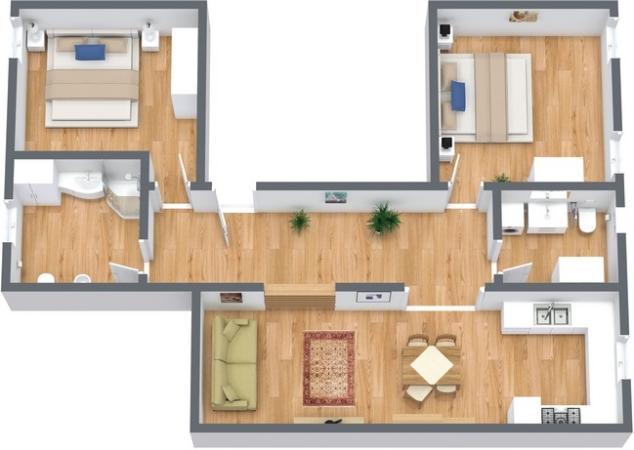 Planimétrie Appartement N.219