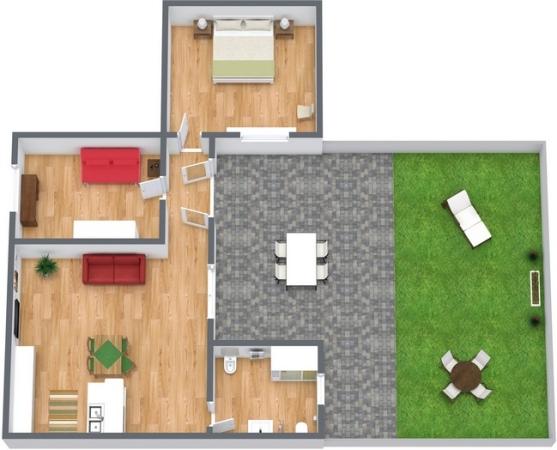 Planimétrie Appartement N.221