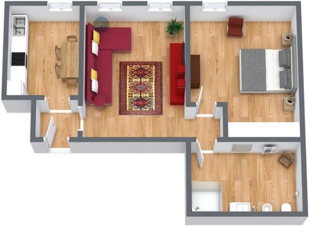 Planimétrie Appartement N.224