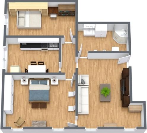 Planimétrie Appartement N.228
