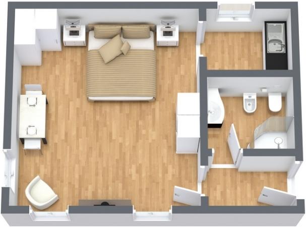 Planimétrie Appartement N.231