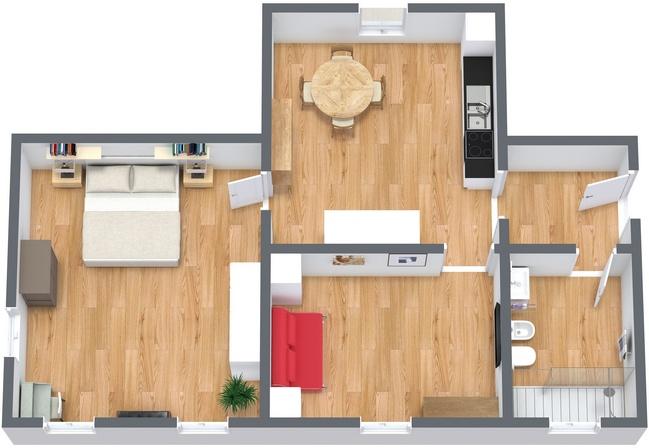 Planimétrie Appartement N.232