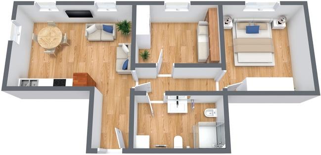 Planimétrie Appartement N.233