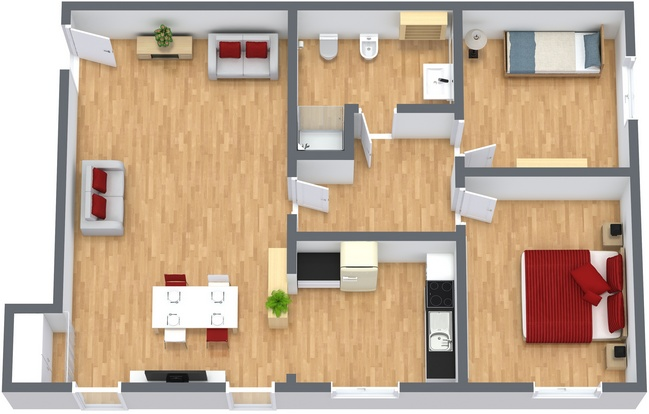 Planimétrie Appartement N.234