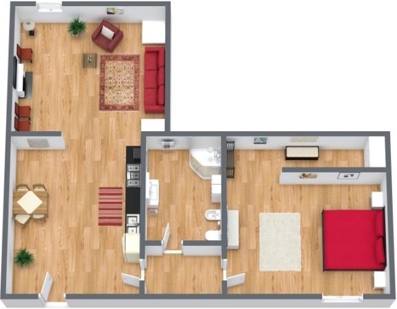 Planimétrie Appartement N.239