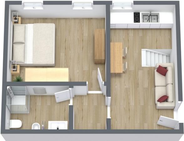 Planimétrie Appartement N.24