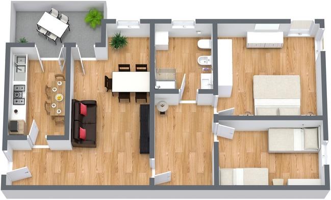 Planimétrie Appartement N.240