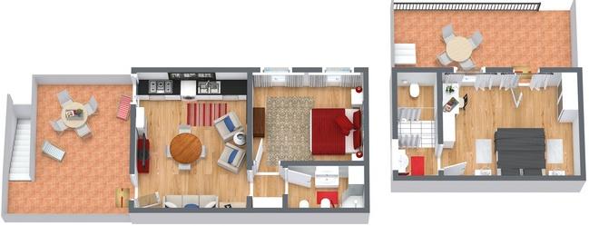 Planimétrie Appartement N.241