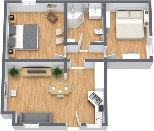 Planimétrie Appartement N.244