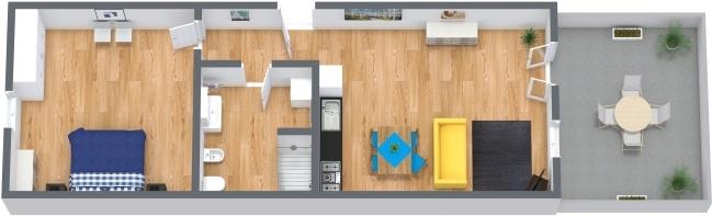 Planimétrie Appartement N.247