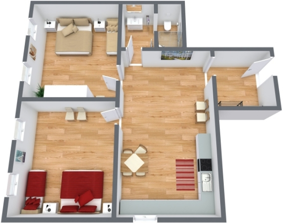 Planimétrie Appartement N.248