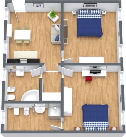 Planimétrie Appartement N.264
