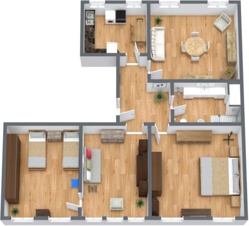 Planimétrie Appartement N.270